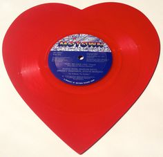 Pops We Love You Heart Shaped Red Vinyl Record by ThisVinylLife