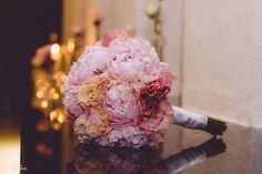 Bouquet de peonias rosas. Salón María Magdalena Tepic. Loto Floristeria & hado eventos & logística