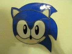 Fan Based Sonic Stained Glass Reserved for Amanda by wistfulfancy
