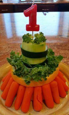 Maya's Pasta: Edible Veggie Cake I made for my guinea pigs!