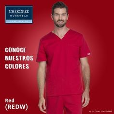 el rojo, un color indiscutible para esta temporada. En su version Corestretch se adapta a tu día a día, brindado máximo confort!
