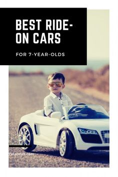 Ride on cars are such a fun thing for young children. It can make them feel independent and free, and can increase their dramatic play opportunities! Here are our suggestions of the best ride on cars for your 7-year-old! #cars #toys