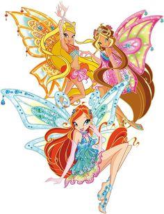 winx club flora | winx club enchantix Bloom, Flora, Stella