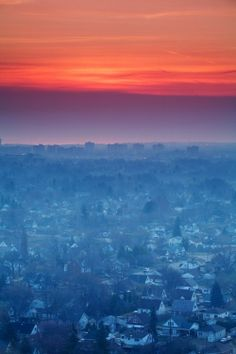 Morning over Hamilton, Ontario, Canada. My hometown that I've left and returned to 3 times! Most recently returning in 2007
