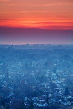Morning over Hamilton, Ontario, Canada