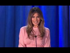 English subtitle Melania Trump Rally in Berwyn, Pennsylvania - YouTube. She is passionate about her stance. We, The American Women for Trump, love you too!!!