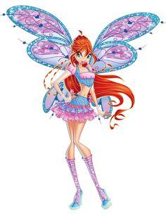 Bloom Believix Render by bloomsama on DeviantArt Arte Indie, Les Winx, Flora Winx, Bloom Winx Club, Cute Disney Wallpaper, Club Outfits, Beautiful Butterflies, Disney Love, Art Inspo