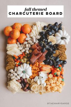 Charcuterie Recipes, Charcuterie Platter, Charcuterie And Cheese Board, Cheese Boards, Party Food Platters, Cheese Platters, Fall Recipes, Holiday Recipes, Halloween Food For Party