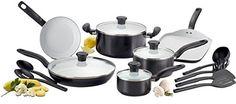 T-fal C921SG Initiatives Ceramic Nonstick PTFE-PFOA-Cadmium Free Dishwasher Safe Oven Safe Cookware Set, 16-Piece, Black T-fal http://www.amazon.com/dp/B00IWSQQPA/ref=cm_sw_r_pi_dp_CDsxwb0Y7NYRM