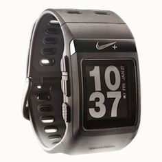 the nike+ sport gps watch comes in many different colors. This is a less bulky watch and works great for men or women