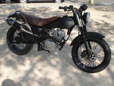 1 SUZUKI VANVAN VAN-VAN Classic Full Black MFC Design - Préparation motos, peinture, design, tuning, Suzuki - Kawasaki