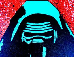 Check out this item in my Etsy shop https://www.etsy.com/listing/492814491/kylo-ren-star-wars-pop-art-8x10-inch