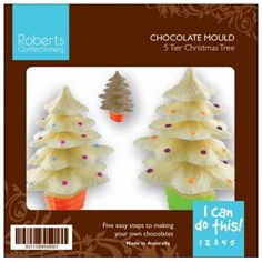 You've got to love these cute Christmas Tree Moulds. They make a perfect Christmas Gift for those you aren't sure what to buy.