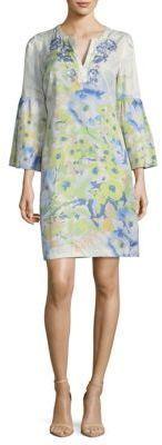 Robert Graham Alora-Floral Print Shift Dress