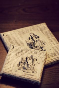 Alice in Wonderland Canvas by ClassicRipOffs on Etsy, $15.00