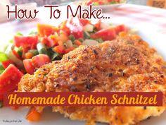 Homemade Chicken Schnitzel Recipe