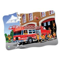 Fire Rescue Puzzle Double by The learning journey | eBeanstalk
