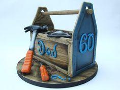 Toolbox cake for Grandpa