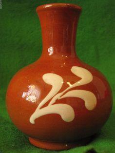 Vintage Sweden Flower mini Vase Decor Scandinavian hand painting