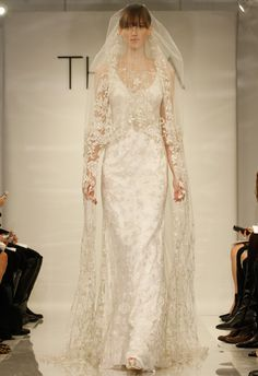 Theia's Fall 2014 Bridal Collection - with a hint of gold