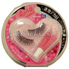 Koji SPRING HEART False Eyelashes #4 Long&volume