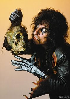 Alice Cooper, Digital Foto, Best Rock Bands, Geek Games, Rob Zombie, Celebrity Drawings, Creatures Of The Night, Post Punk, Great Bands