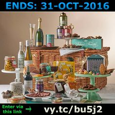 ENDS 31-OCT-2016  --  #Win a #Fortnum and Mason #Belgravia Hamper >vy.tc/bu5j2< #competition #giveaway #sweepstakes #FOOD #BOOZE