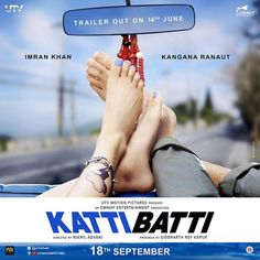 Makers of Kangana Ranaut and Imran Khan starrer 'Katti Batti' have unveiled a quirky teaser poster of the film. The film's trailer will be out on June 14 Latest Bollywood Movies, Bollywood News, Recent Movie Releases, Be With You Movie, 2015 Movies, Imran Khan, Celebrity Wallpapers, Upcoming Films