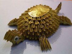 3D-Origami-Golden-Turtle-Origami-300x225.jpg (300×225)