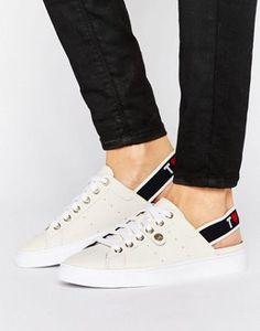 Tommy Hilfiger Sling Back Logo Sneakers