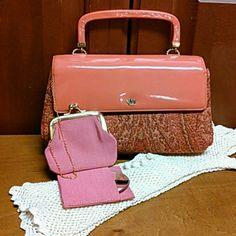 Vintage Mini Koret Carpet Handbag Trio