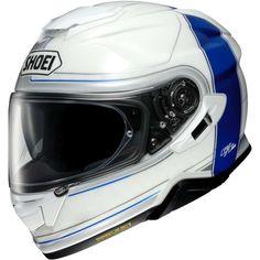 Κράνος #Shoei GT-Air II Crossbar TC-2 Shoei Motorcycle Helmets, Shoei Helmets, Motorcycle Outfit, Flip Up Helmet, Air Supply, Ear Cleaning, Ventilation System, Sport Bikes, Me Too Shoes