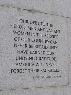 Image detail for -Memorial Day Quotes and Memorial Day Sayings. We need to live by this as though everyday is Memorial Day. Quotes To Live By, Me Quotes, Quotable Quotes, Memorial Day Quotes, Memorial Day Thank You, Military Quotes, Support Our Troops, Veterans Day, Veterans Quotes