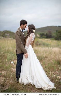 Boho wedding couple shoot   Photo by Lizelle Lotter