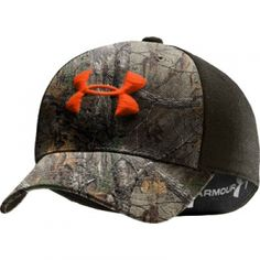 Under Armour UA Camo 2-Tone Stretch Fit Baseball Cap - Mills Fleet Farm