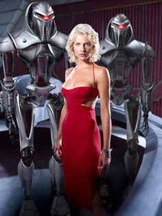 Six & a pair of Centurians (Cylons) -- Battlestar Galactica