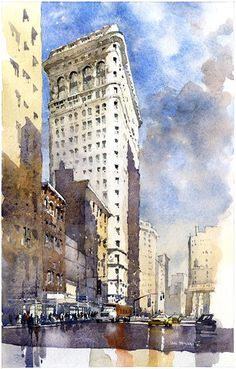 Iain Stewart - watercolor
