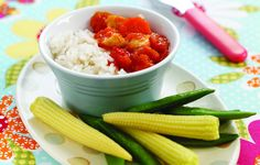 This sweet and sour recipe is very healthy as the meat isn't deep fried. Sweet N Sour Chicken, Chicken Rice, Rice Recipes, Healthy Recipes, Meal Recipes, Sweet And Sour Recipes, Meals For The Week, Fruit Salad, Family Meals