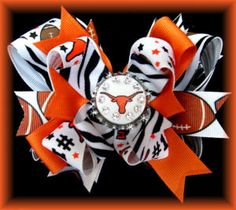 Hook em horns! I wanna make these for Brewers & Badgers too! :)