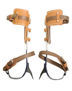 KLEIN TREE CLIMBER SET-Klein climbers are widely used by most utility workers and arborists find their offset gaffs great for maximum penetration whil Climbing Harness, Rock Climbing, Homestead Survival, Survival Tools, Tree Climbing Equipment, Tree Felling, Woodworking Hand Tools, Tree Tops, Metal Buildings