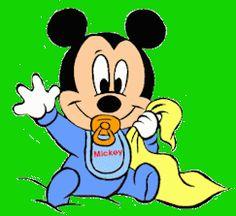Baby's Page - Mickey, Minnie, Pluto, Pippo & C.
