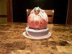 Kitty and Yarn cake