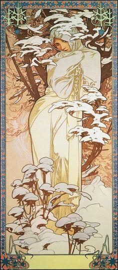 Albert Camus, Alphonse Mucha, Art Nouveau, Prague, Paris, Muse, Le Cri, Chill, Art Moderne