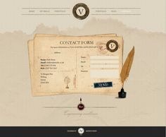 Contact page I did for client