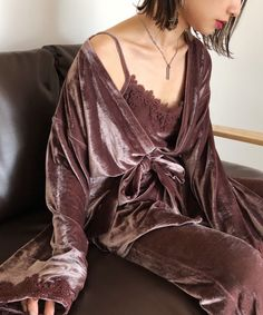 Night Wear Lingerie, Lingerie Outfits, Night Suit For Women, Beautiful Women Videos, Elegant Lingerie, Pajama Outfits, Urban Fashion Women, Renaissance Clothing, Pajamas Women