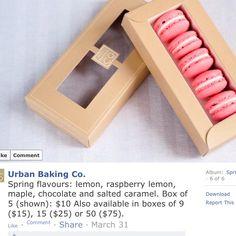 Macaron packaging                                                       …