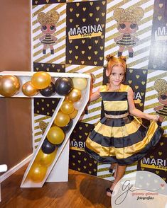 7th Birthday Party Ideas, Party Queen, Bee Party, Ailee, Doll Party, Lol Dolls, Queen Bees, Party Favors, Birthdays