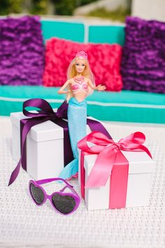 Barbie™ The Pearl Princess Party + We are giving away 10 Pearl Princess DVDs + Lumina Dolls! Enter here: http://www.thetomkatstudio.com/barbiepearlprincessparty/