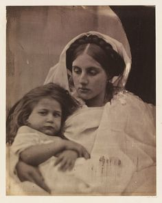 """La Madonna Vigilante"" photo by Julia Margaret Cameron (1864)"