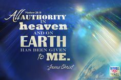 Jesus The Lord and God Almighty Has All Authority